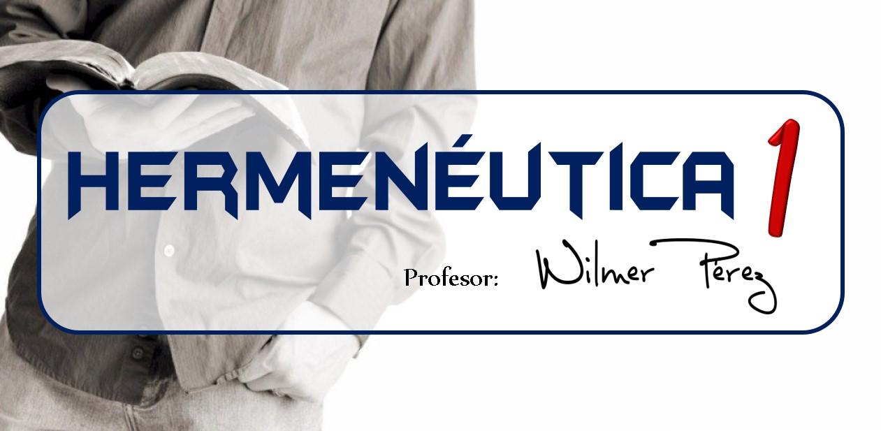 Hermenéutica I